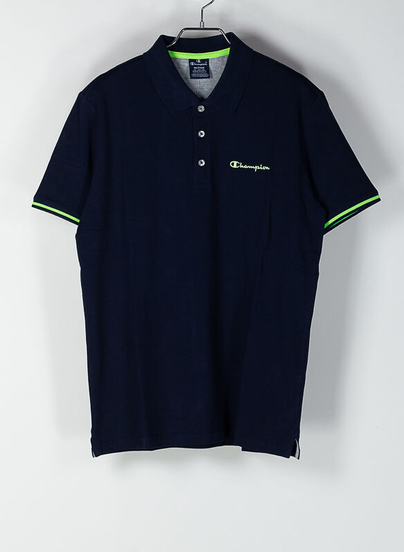 POLO PIQUET, BS501NVY, medium