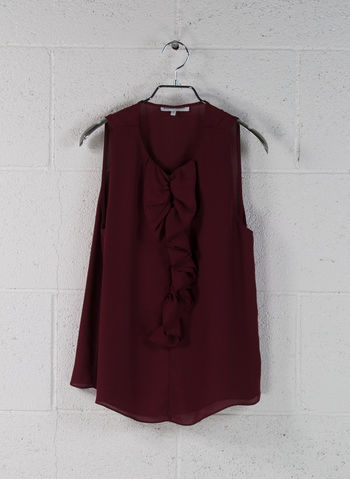 BLUSA SMANICATA ROUGE, BORDEAUX, small