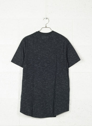 T-SHIRT SPORTSTYLE BRANDED, 001BLKWHT, small
