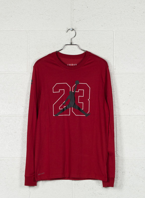 T-SHIRT JORDAN, 687RED, medium