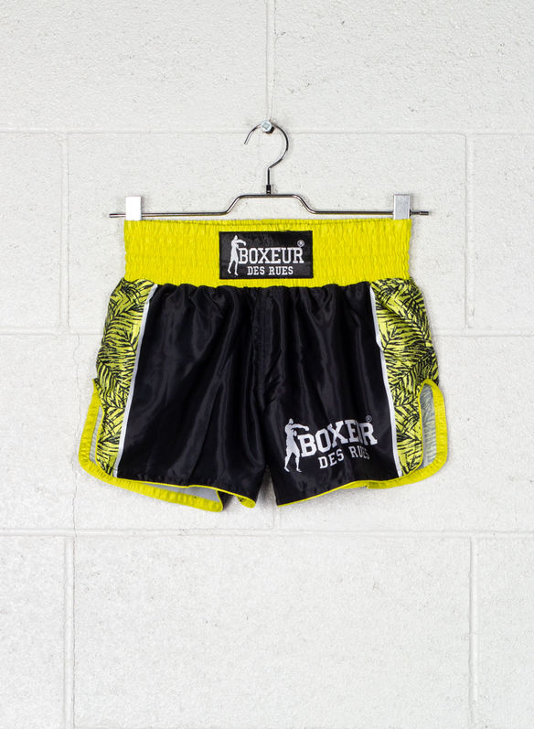 SHORT KICK/THAI GRAPHIC, BLKLIME, medium