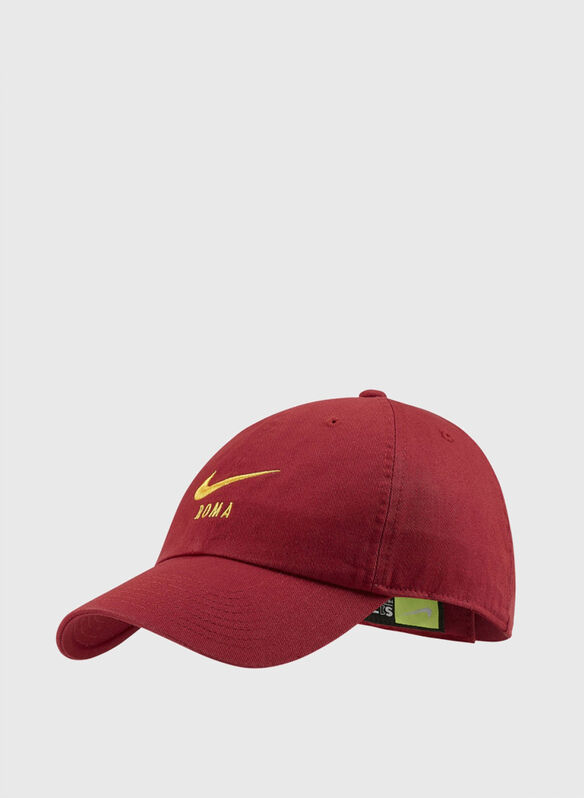 CAPPELLO VISIERA AS ROMA, 614RED, medium