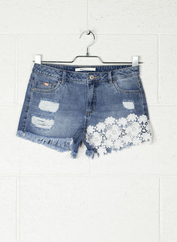 SHORTS DENIM CARMEN, MEDIUMBLUE, small