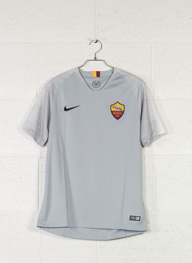 MAGLIA A.S. ROMA STADIUM AWAY 2018/19, 012GREY, large