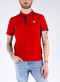 POLO LOGO TRIANGOLO, TLRD RED, thumb
