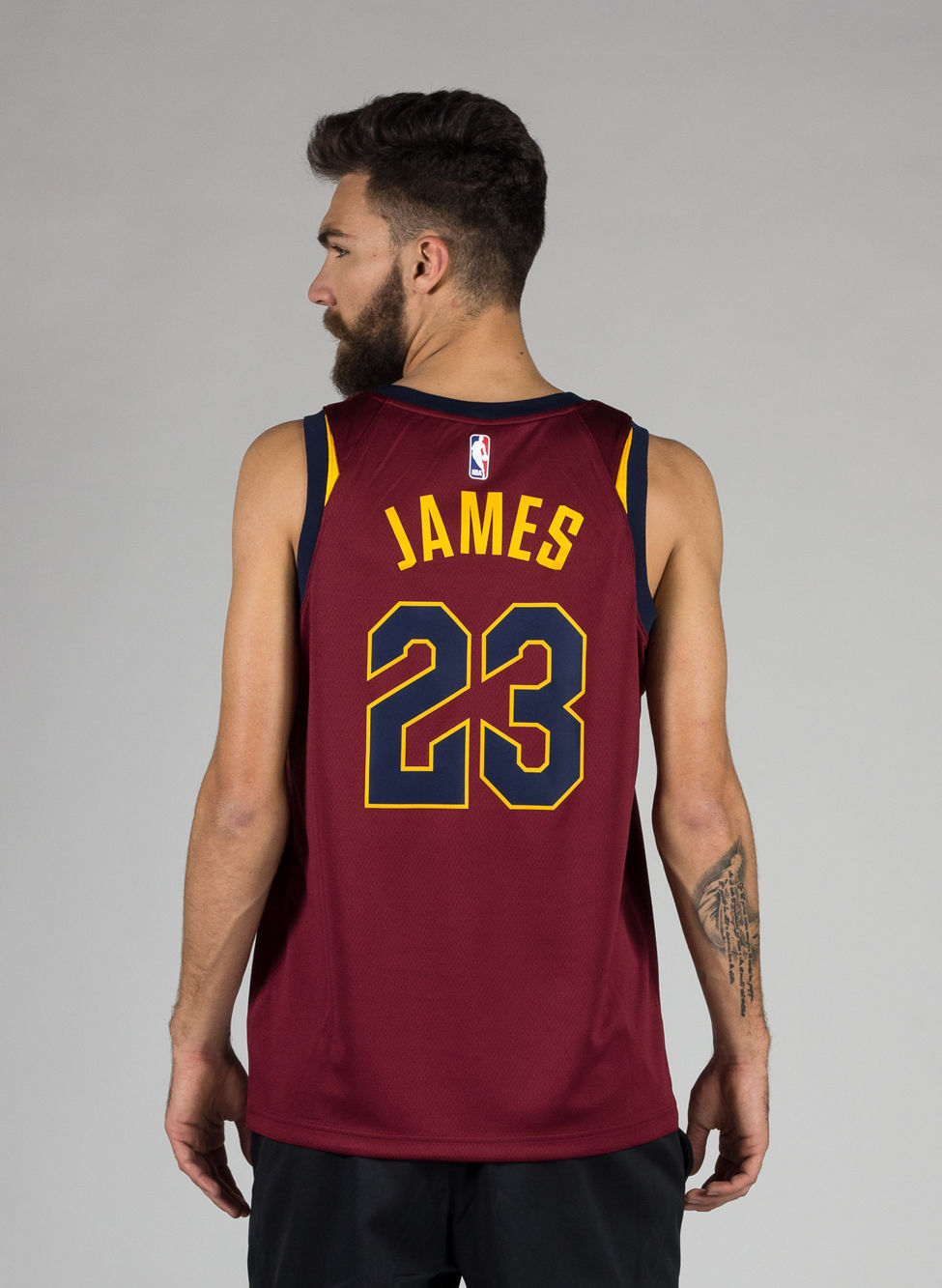 newest 1a276 55df6 M CANOTTA NBA CAVALIERS LEBRON RED