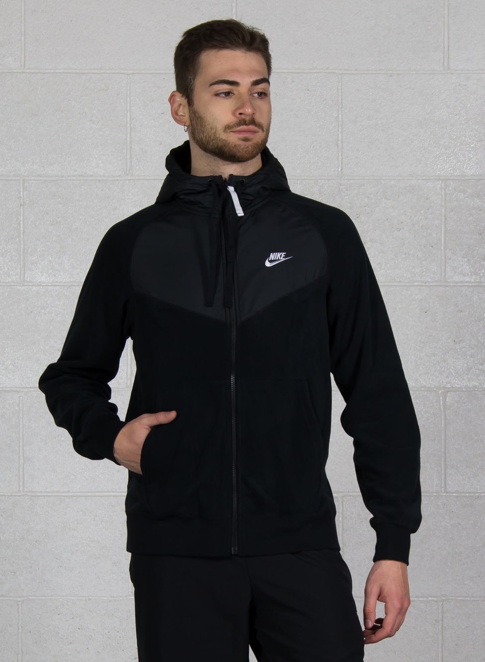 felpa full zip nike