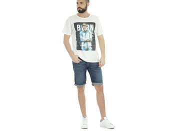 T-SHIRT GRAPHIC PHOTO , EPRR WHT, small