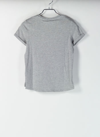 T-SHIRT BEHENNA FRYDAY, GREY, small