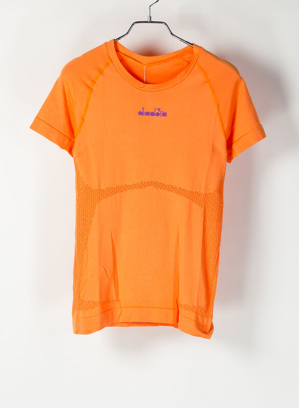 T.SHIRT SKIN FRIENDLY, ORANGE, medium