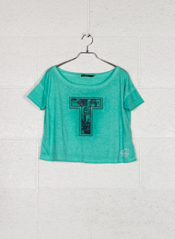 T-SHIRT KEMY, VERDE, small
