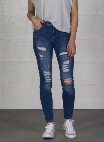 JEANS CARMEN, MEDIUM BLUE, small
