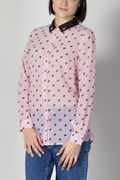 CAMICIA STAMPA ALL OVER, P44BPINK, thumb