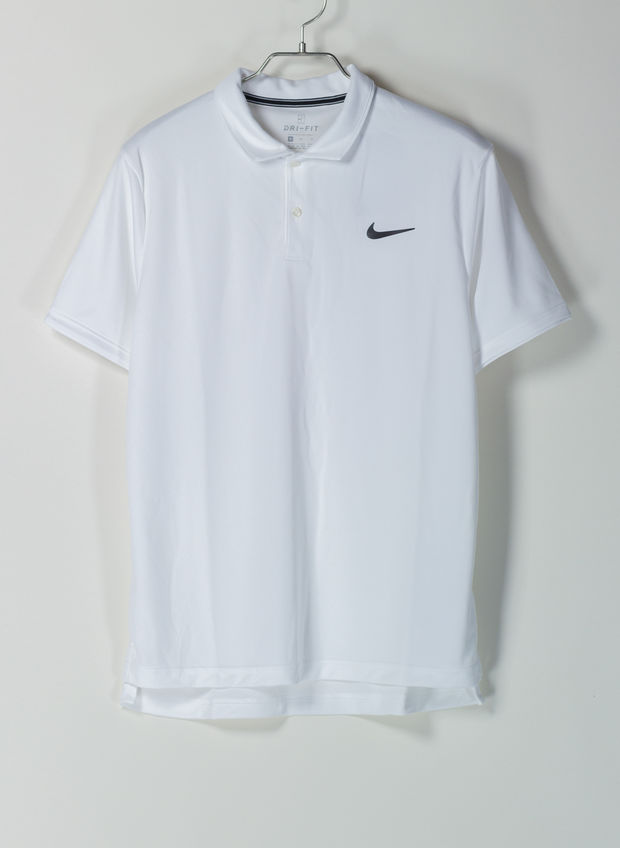 POLO COURT DRI-FIT TEAM, 100WHT, large