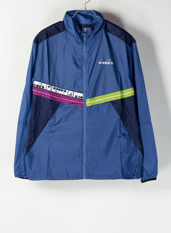 JACKET WIND BE ONE BLUE, BLUE, medium