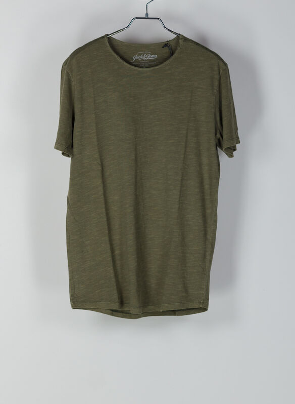 T-SHIRT ASHER, OLIVE, medium