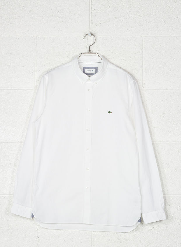 CAMICIA OXFORD, 001WHT, large