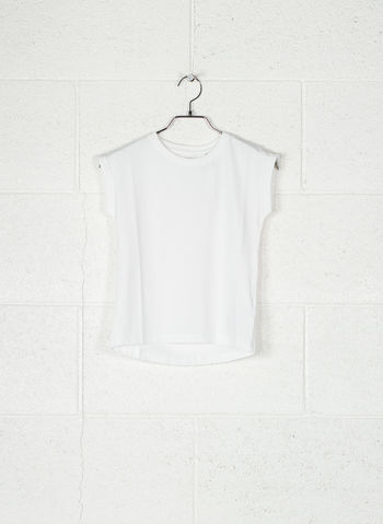T-SHIRT BASIC RAGAZZA, WHT, small