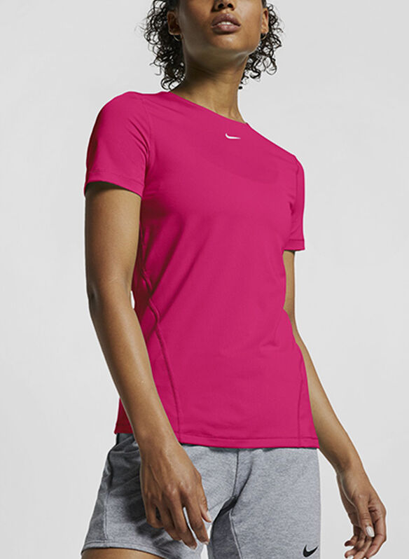 T-SHIRT PERFORMANCE OVER, 639FUXIA, medium
