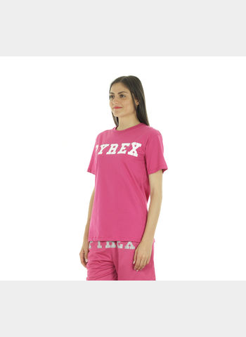 T-SHIRT BIG LOGO , FUXIA, small