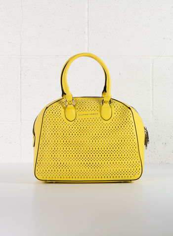 BORSA MANICI TRAFORATA, YELLOW, small