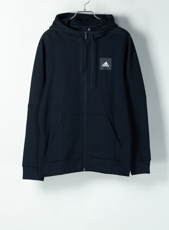 FELPA FULL ZIP ATH, BLK, medium