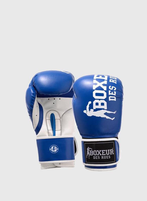 GUANTO BOXE IMPACT 8OZ, AZZ, medium