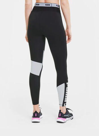 LEGGINGS 7/8 DA TRAINING, 02BLKWHT, small