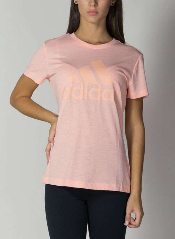 T-SHIRT MUST HAVES BADGE OF SPORT, PINK, medium