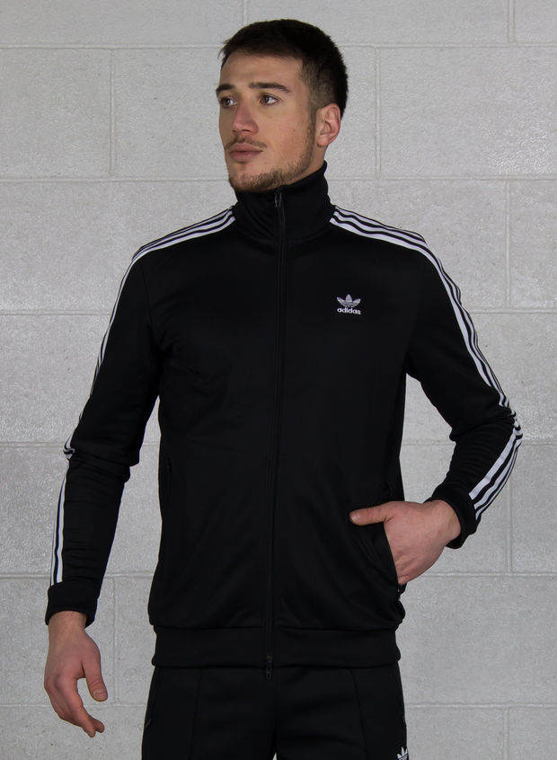 FELPA TRACK JACKET BB, BLKWHT, large