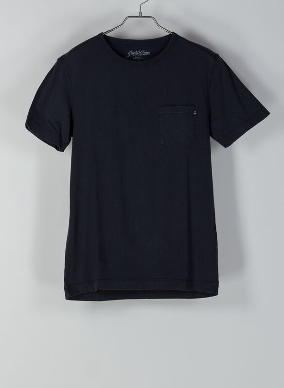 T-SHIRT WASH, BLK, medium