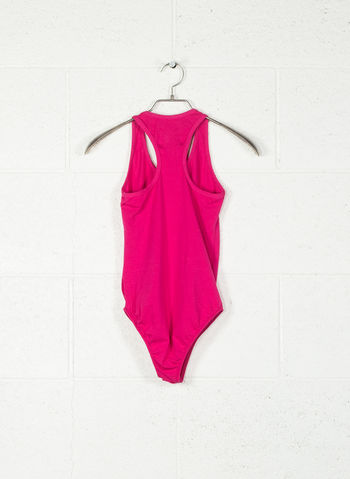 BODY JERSEY STRETCH BIG LOGO, FUXIA, small
