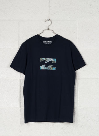 T-SHIRT TEAM WAVE STAMPA, 21NVY, small