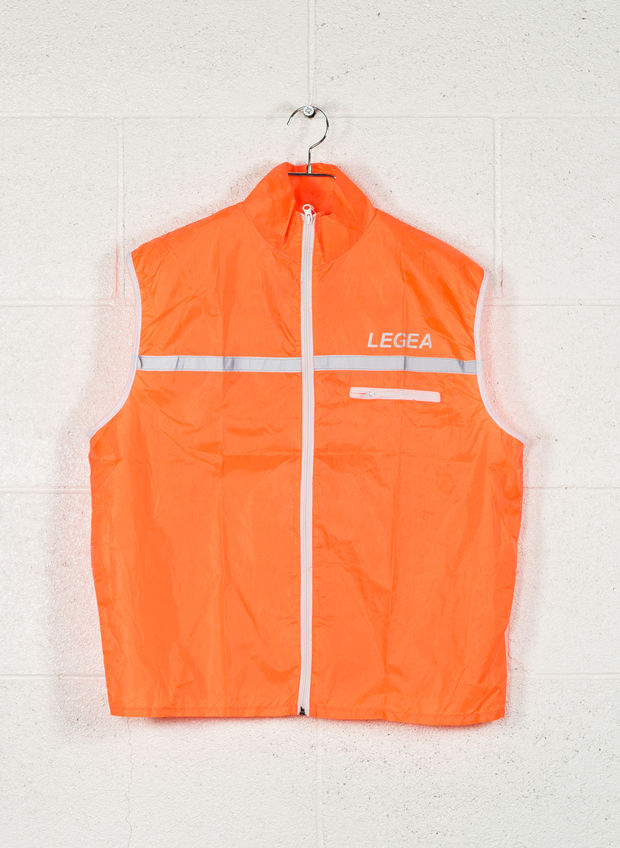 GILET FLASH RUNNING, 0001ORANGE, large