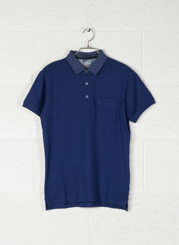 POLO CON TASCHINO, 715BLUETTE, small