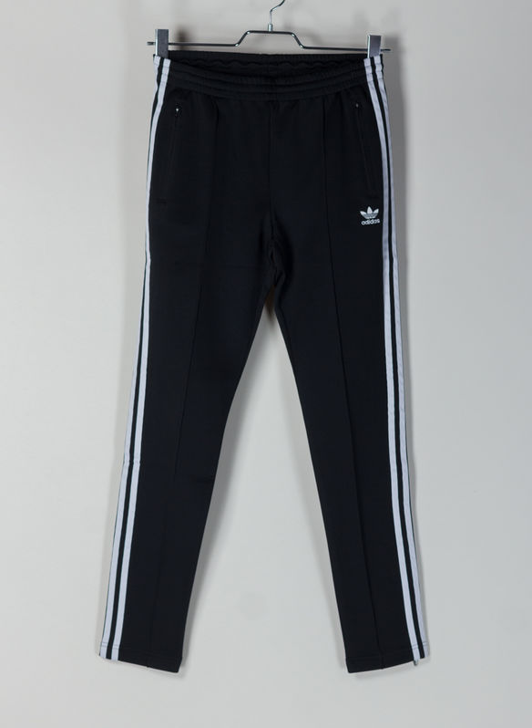 PANTALONE TRACK PANTS SST, BLKWHT, medium