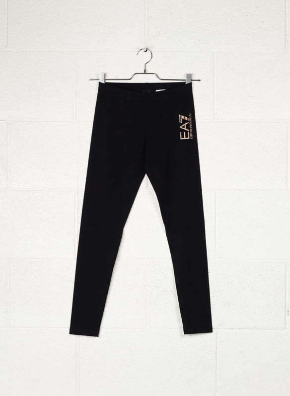 LEGGINGS LOGO, 1200BLK, medium