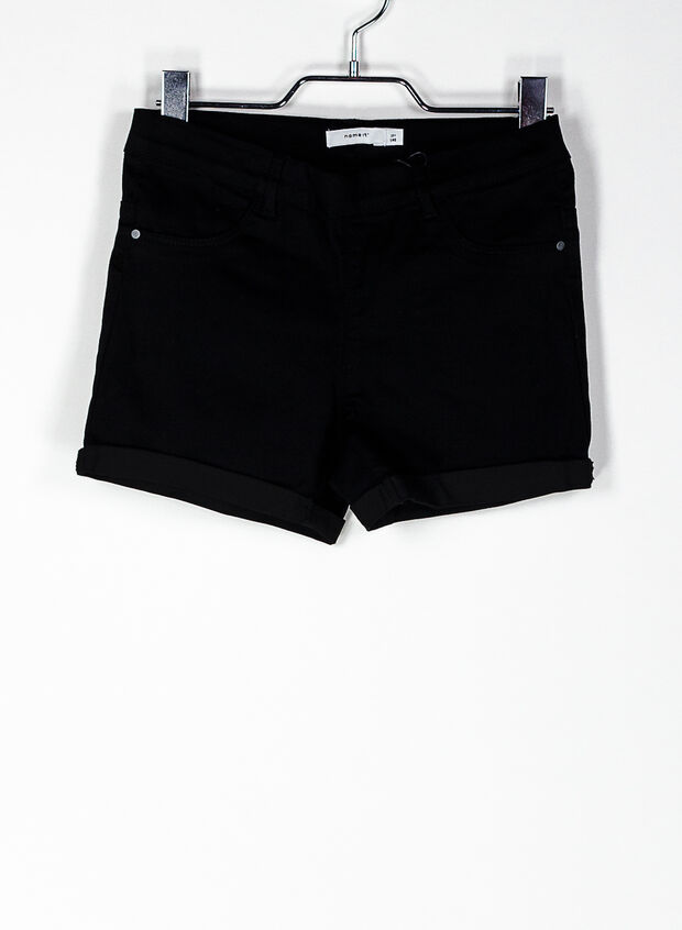 SHORT SALLY RAGAZZA, BLK, large