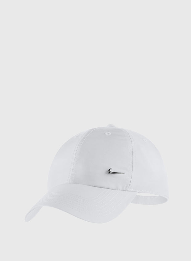 CAPPELLO METAL SWOOSH, 100WHT, large
