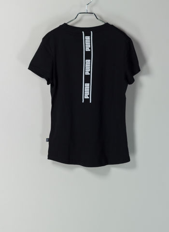 T-SHIRT STYLE LOGO POSTERIORE, 01BLK, small