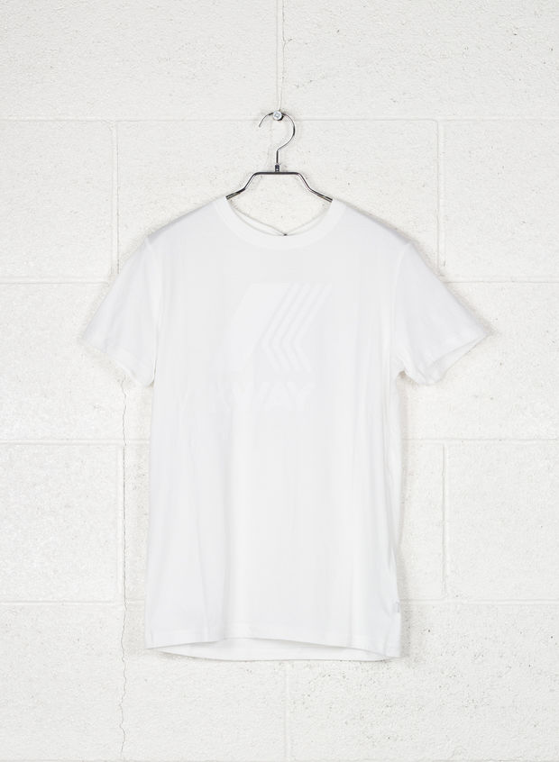 T-SHIRT BIG LOGO, K01WHT, large