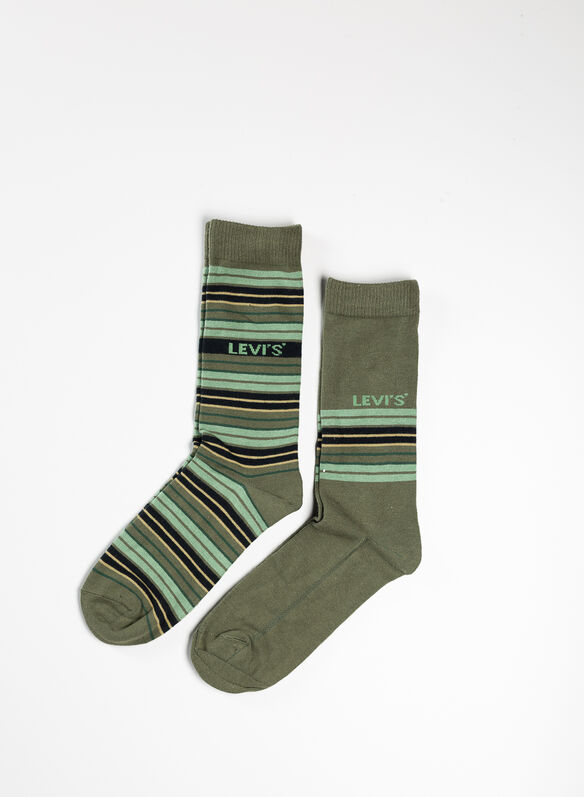 CALZA STRIPE 2 PAIA, 004GREEN, medium
