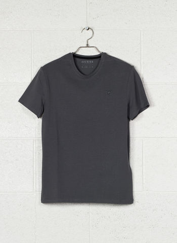 T-SHIRT STRETCH MICRO LOGO, TXDG FUMO, small