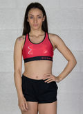 BRA MID BIG LOGO TRAINING, 714FUXIA, thumb