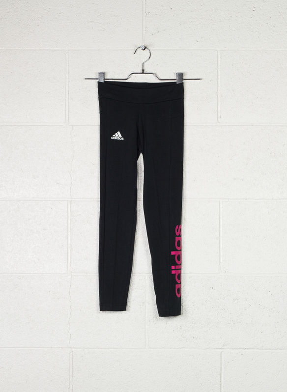 TIGHT ATH LINEAR RAGAZZA, BLKFUXIA, medium