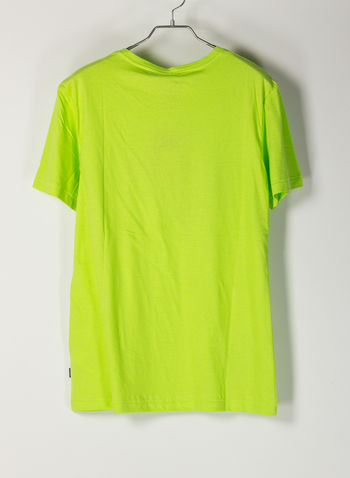 T-SHIRT STAMPA LOGO, 77236ACID LIME, small