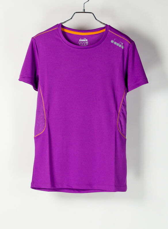T.SHIRT RUN VIOLET, VIOLET, medium
