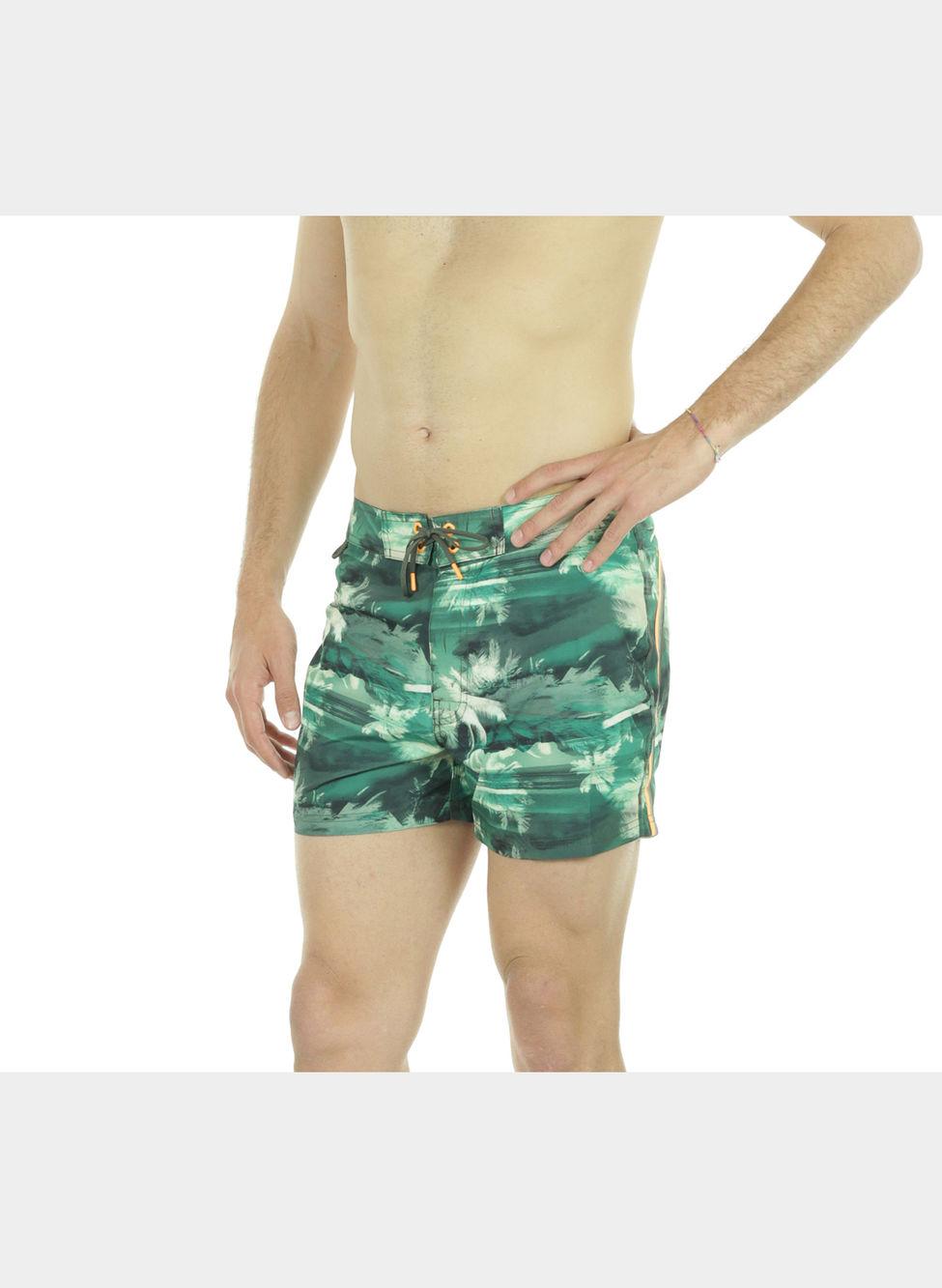 Pantaloncino mare medio vita fissa - Costumi da bagno pantaloncino uomo ...