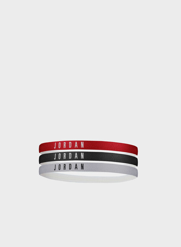 HEADBANDS 3 PZ JORDAN, 626WHTBLKRED, medium