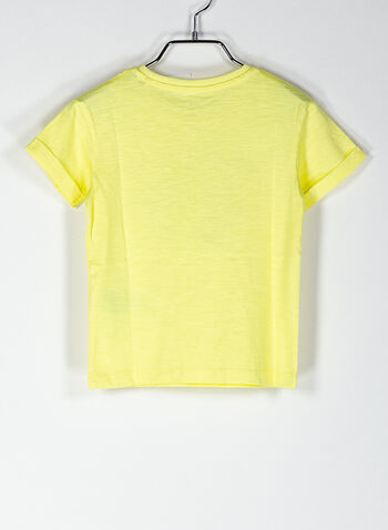 T-SHIRT GRAPHIC BAMBINO, LIME, small
